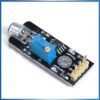 analog microphone - Sound Sensor Module High Sensitivity Electret Condenser Microphone ECM Sound Sensor Module