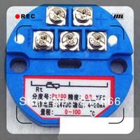 Wholesale X New PT100 Temperature Transmitter Sensor V V output degree degree