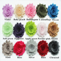Wholesale quot frayed chiffon shabby flower yards shabby chiffon flowers BY DHL US LIST colors
