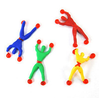 Wholesale New Funny Gadgets Hot Sale Climb Wall Toy Climbing Toys Baby Boy Figure Chrismats Gifts Ht381