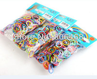 Wholesale NEW jelly Intelligence toys Loom rubber Bands a pack of S clips
