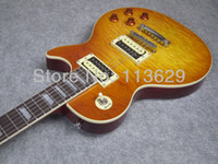Wholesale LP Electric Guitar Quilted Maple Top High Quality