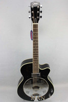 Passive Closed Type acoustic electric resonator - Acoustic electric Roundneck Resonator Guitar