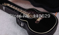 acoustic guitar hardshell case - Acoustic Guitar with Hardshell Case quot guitar J Acoustic Guitar BK
