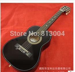 Promotion cordes de guitare acoustique noir Gros-Livraison gratuite 30