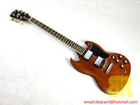 Wholesale and Retail new high quality and best price mahogany SG electric guitar