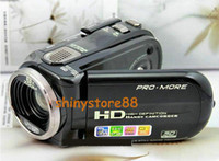 Wholesale HD C4 Digital Camera DV camcorder inch screen x Zoom MP HDC4 Multi language Black amp Red