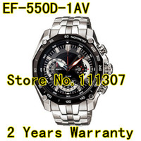 Men's 550d - EF D AV New EF D Men s black face Wristwatch EF D A With Stopwatch Swing Pendulum function