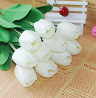 best wedding decor - Tulip Flower Latex Real Touch For Wedding Bouquet Decor Best Quality AE02090