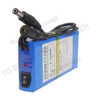 Wholesale TV Camera Rechargeable Lithium ion Battery V mA Monitor the battery Camcorder Battery