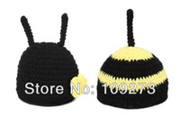 baby bumble bees - Epacet Baby Crochet Bumble Bee Hats Cape and Bum Cover Set Newborn Photography Prop Caps