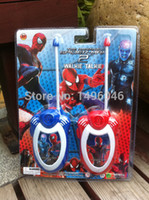 Wholesale Original Children Spiderman Toy Walkie Talkies Diecasts From Factory Outlets Funny Toys For Children Gift