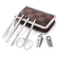 Cheap 7pcs professional nail Best stainless steel Set & Kit set nail