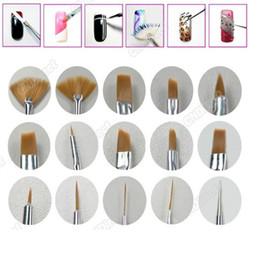 Wholesale Design DIY Acrylic Painting Tool UV Gel Pen Polish Nail Art Brush Set Kit NA105