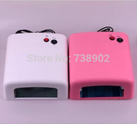 Wholesale new v w EU uv plug nail lamp Professional Ultraviolet Lamp Light high quality