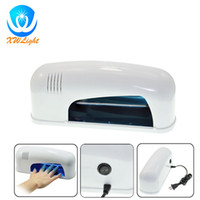 Wholesale White W UV Nail Lamp With Eu Plug V For Gel Nail Art