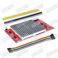arduino led module - LED dot matrix display module unlimited cascading compatible interfaces for arduino