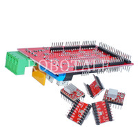 Cheap Wholesale-Free shipping! 3D printer control panel kit RAMPS 1.4 + 5pcs 4988 drive containing fins