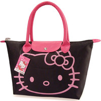 Wholesale Hotsale New Arrival Hello Kitty Bag Shopping Bag Hand BagBlack Pnk Red Rose pink