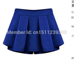 Wholesale summer new European and American women s casual skirts summer shorts Free International Women