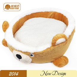 Wholesale new bear design Pet Dog bed cat bed soft dog house comfortable dog Kennel mat