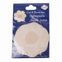 . Polyester Women Wholesale-Hot Sale 50 Pairs Lady Girls Self Adhesive Nipple Breast Covers Pads Patches Non-Woven Cover Sticker Disposable Bra Flower Shape