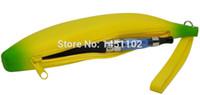 Yes ecig CE4 CE5 EGO Banana Wholesale-2015 New Fashion Silicon Banana Zip bag Case Cover Bag for Electronic cigarette E Cig Vape CE4 CE5 EGO