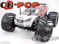 Wholesale 1 RTR RC truck Nitro Gas CC Engine WD car speed Gearbox radio remote control Truck hobby toys