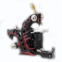 basic tattoos - BJT NEW Custom Tattoo Machine Gun for Liner Shader Wrap Coils Basic Starter Set