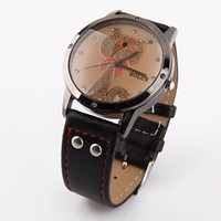 Wholesale Unisex watches fashion Cartoon cat watch for girls and man mix order W122