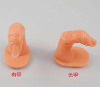 Wholesale New Fashion Insert False Nail Art Practice Training Tool Finger Nail Tools TO Practise Do Nail
