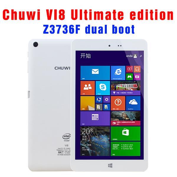 Buy -8 inch IPS CHUWI VI8 Dual Boot 2GB 32GB OS Windows 8.1 Android 4.4 Intel Z3735F Bluetooth Multi Language tablet pc