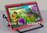 Wholesale Cheap inch Dual core Allwinner q88 A23 dual camera Andorid tablet pc M GB WIFI capacitive DHL pc