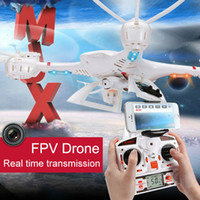 Wholesale MJX X400 RC Drone with IOS Android FPV real time transmission Remote Controller Quadcopter CH GHZ Axis Gyro Quadrocopter