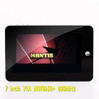 Wholesale via8650 inch goole Android OS MHz WIFI camera G epad LCD touch Screen epad