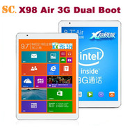 OS 8 bay air - quot Retina Teclast X98 Air G Dual Boot Phone Call Tablet PC Intel Bay Trail T Quad Core GHz GB RAM GB BT