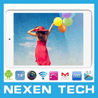 Dual Core Android 4.2 1GB Wholesale-7.9 inch Tablet PC RAM 1GB ROM 8GB GPS WIFI WCDMA 1024x768 Android 4.2 BT 7.85 inch 3G SIM Card Slot Phone Call 3G Tablet PC