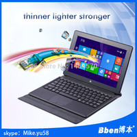 Wholesale windows tablet pc Bben T10 inch Quad core Intel CPU business tablet with keyboard nice as microsoft surface pro