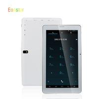 Bon Marché Android tablet with sim card slot-Gros-Cheap 9 pouces Tabelt Avec 4.2 double carte double caméra Sim Sim 2G Tablet PC Allwinner A23 Dual Core Android slot Bluetooth 512M / 8GB
