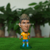 Wholesale Soccer World cup Brazil Team Neymar quot Toy Doll Figurine