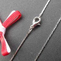 brass chain - jewelry inch wire wove necklace jewelry rhodium plated brass necklace chain x1mm