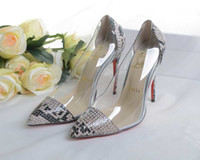 almond skin - Genuine leather multicolor skin pointed toe designer high heels stilettos party prom shoes women sexy snake pumps