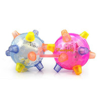 Cheap Wholesale-New Child Kids Pet Novelty Singing Dancing Bouncing Ball Safety Toy Best Gift