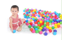 baby swimming games - Baby Kids Children Safety Colorful Soft Plastic Ocean Ball Child Toy Swim Pool Ball Pits Playground Toy Funny Game