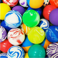 Wholesale mm rubber High Bouncing balls bouncy ball bounce ball printing bouncing ball for kids