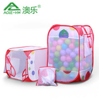 baby carry basket - Large high quality Net Baby wave ball pool children tent ball basket carry ocean ball fold storage box ball