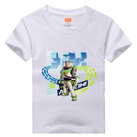 Summer toy story clothing - Boys amp Girls T shirt Cartoon Anime Figure Buzz Lightyear Toy Story Clothes Casual Children s Clothing T shirts Kids