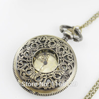 Casual antique pocket watches for sale - Vine Jewelry Hot sale Jewelry Fashion Delicate Antique Pocket Watch Pendant Neckalce For Bijoux Women