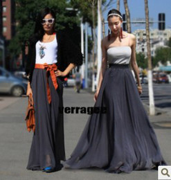 Discount Maxi Skirts Solid Colors | 2017 Maxi Skirts Solid Colors ...