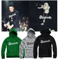 Wholesale fashion J COLE same sytle hoodies hip hop singer Jermaine Cole sweatshirts Dreamville pullover outerwear